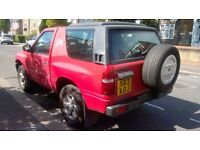 Vauxhall FRONTERA SPORT S, HPI Clean, Warranted Mileage, Good Runner