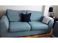 BLUE DFS SOFA - 3 SEATER - VERY GOOD CONDITION- BARGAIN PRICE