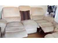 Can deliver Harvey's 3 seater sofa and matching chair both recliners good condition