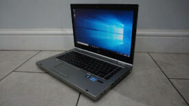 HP ELITEBOOK 8470 LAPTOP/ i5 3rd Gen 8GB DDR 3 RAM/320GB HDD/INTEL HD 4000 GRAPHICS/WIN 10 BARGAIN