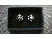 mens dice cufflinks