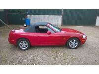 mazda mx5 roadster mot mar may p/ex