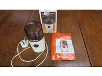 Moulinex Electric 150 watt Model 505 Super-Junior S Domestic Coffee Grinder in good working order