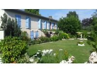 SOUTH WEST OF FRANCE LARGE FAMILY 7 BEDROOMED HOUSE IN QUIET COUNTY VILLAGE USED TO BE A BUSY BNB