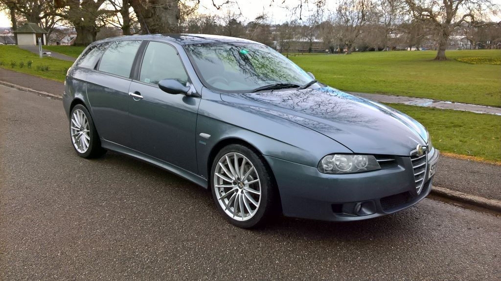 sold alfa 156 sportwagon 2 4 jtd 20v m jet veloce new mot lots of new parts well maintained. Black Bedroom Furniture Sets. Home Design Ideas