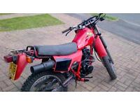 Honda XL125rc. Full MOT. 1984