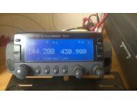 Ham radio .Kenwood TM-V7E 2m/70cm FM mobile transceiver