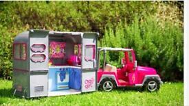 Our Generation camper van and car set