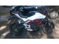 Hyosung gd250n like new 270 miles only
