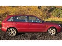 CHEAP MAZDA 323 1.6L (2004) full year mot 5 door family car CHEAP RUNABOUT