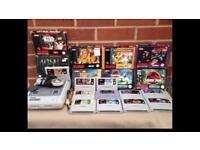 Super Nintendo bundle & 11 games