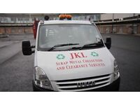 JKL SCRAP METAL COLLECTION REMOVAL TRUSTWORTHY RELIABLE FRIENDLY SERVICE 07960635007