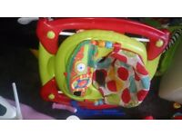 Unisex baby walker. Excellent condition, hardly used. Great for children learning to walk