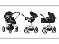 Graco symbio pushchair 3 in one