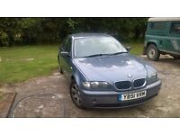 BMW 320d 2002 - Spares or Repair - MOTed