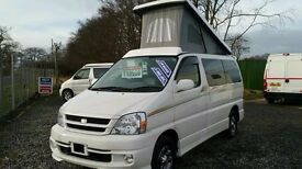 Toyota Touring Hiace - 4 Berth Campervan Conversion