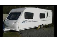 Ace Jubilee Equerry 6 berth caravan with motor mover