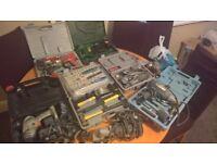 job lot tools clarke black and decker etc
