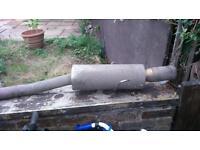 Suburu exhaust system
