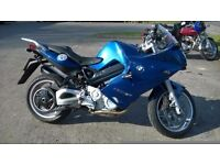 BMW F800ST , not F800GT Only 12,150 Miles, Exc. condition in metallic blue , heated grips ABS