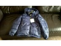 moncler coat ,medium,new.Navy zip,all buttons moncler marking.fantastic jacket. .