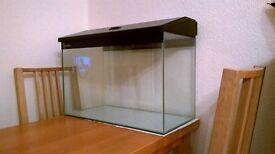 Clear Seal large glass fish tank with filter