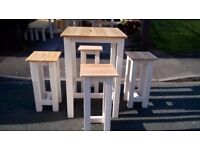 PRODUCED BY HAND DINING/COFFEE TABLES,BEDS,SIDEBOARD,TV UNIT,DRESSER,GARDEN&PATIO BENCHES FROM £49