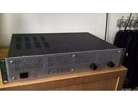 Skytec tec 6500 amp and flight case