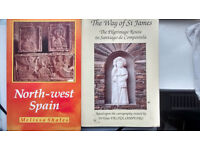Camino de Santiago travel books: The Way of St James (Camino de Santiao) PLUS North West Spain