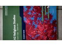 A Level student book - A2 Religious Studies edexcel