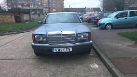 Mercedes W126 420 sel v8 1989