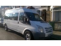 FORD TRANSIT PASSENGER VAN IS IN GOOD CONDITION--RUNNING PERFECTLY