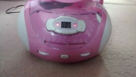 polaroid radio CD player