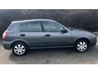 CHEAP NISSAN ALMERA 1.5L (2004) full year mot ready to drive away