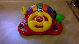 V-Tech Interactive Steering Wheel