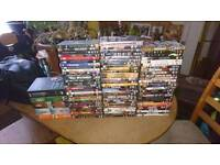 84 DVDs mint condition discs and 5 box sets