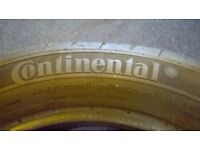2 Continental Tyres