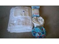 Bambino mio miosoft washable nappy starter set (two piece reuseable, liners <9kg