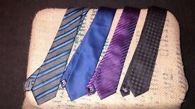 4 Men's ties - £10