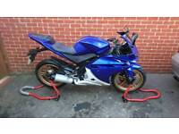 Yamaha yzf r125, HPI CLEAR 2012, delivery available