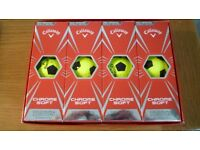 CALLAWAY CHROME SOFT TRUVIS GOLF BALLS.
