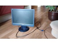 "Small ViewSonic PC 17"" PC Monitor"