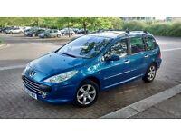 Peugeot 307 SW SE 1.6L Diesel Blue Estate