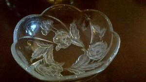Depression glass bowl