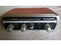 M-Audio Fast Track Guitar/Mic Recording Interface (First Generation)