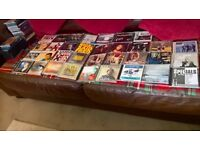 Cds..small collection..mostly pop..