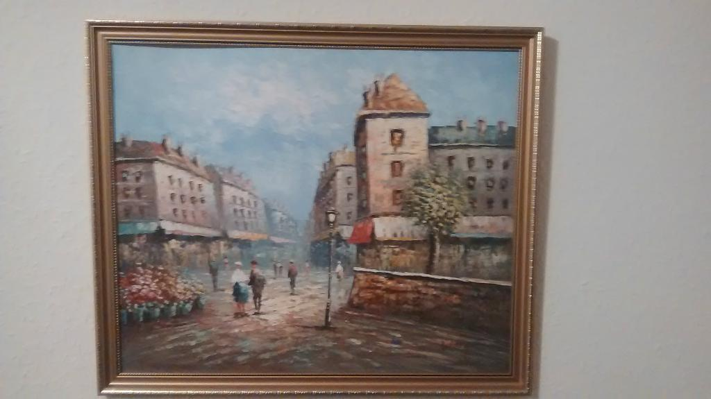 Original Signed Burney Oil Painting In Newtownabbey