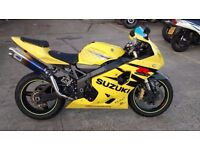 Suzuki GSX-R 600 for Sale Year 2004 with New MOT and 3 Month Warranty