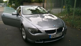 BMW 6 SERIES 2007 ONE PREVIOUS OWNER 41 K EXCELLENT CONDITION
