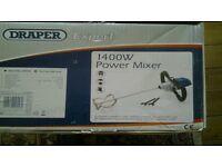 Plaster mixer brand new